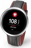 """Смарт-часы MyKronoz ZeRound2HR Premium 12.8мм 1.22"""" TFT серебристый (KRZEROUND2HR-SILV)"""