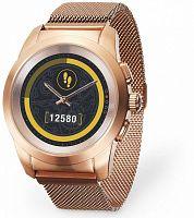 "Смарт-часы MyKronoz ZeTime Elite Petite 42.9мм 1.05"" TFT розовое золото (KRZT1PE-BPG-PGMIL)"
