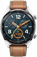 """Смарт-часы Huawei Watch GT Sport FTN-B19 46.5мм 1.4"""" AMOLED серый (55023251)"""