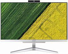 "Моноблок Acer Aspire C24-865 23.8"" Full HD i3 8130U (2.2)/8Gb/SSD128Gb/UHDG 620/CR/Free DOS/GbitEth/WiFi/BT/65W/клавиатура/мышь/Cam/серебристый 1920x1080"