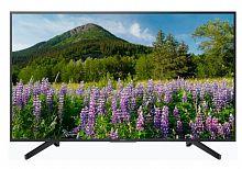 "Телевизор LED Sony 49"" KD49XG7005BR BRAVIA черный/Ultra HD/50Hz/DVB-T/DVB-T2/DVB-C/DVB-S/DVB-S2/USB/WiFi/Smart TV"