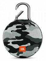 Колонка порт. JBL Clip 3 камуфляж/серый 3.3W 1.0 BT/USB 1000mAh (JBLCLIP3BCAMO)
