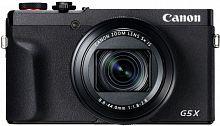 "Фотоаппарат Canon PowerShot G5 X Mark II черный 20.1Mpix Zoom5x 3"" 4K SDXC/SD/SDHC CMOS IS opt 5minF rotLCD TouLCD VF 5.9fr/s RAW 60fr/s HDMI/WiFi/NB-13L"