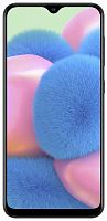 "Смартфон Samsung SM-A307F Galaxy A30s 64Gb 4Gb черный моноблок 3G 4G 2Sim 6.4"" 720x1560 Android 9.0 25Mpix 802.11 a/b/g/n/ac NFC GPS GSM900/1800 GSM1900 TouchSc MP3 microSD max512Gb"