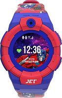 "Смарт-часы Jet Kid Optimus Prime 45мм 1.44"" TFT синий/красный"