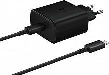 Сетевое зар./устр. Samsung EP-TA845 USB Type C 3A PD для Samsung кабель USB Type C черный (EP-TA845XBEGRU)