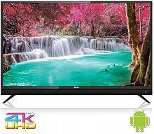 "Телевизор LED BBK 43"" 43LEX-8161/UTS2C черный/Ultra HD/50Hz/DVB-T2/DVB-C/DVB-S2/USB/WiFi/Smart TV (RUS)"