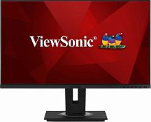 "Монитор ViewSonic 27"" VG2755-2K черный IPS LED 16:9 HDMI M/M матовая HAS Pivot 1000:1 350cd 178гр/178гр 2560x1440 DisplayPort FHD USB 6.9кг"
