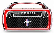 Аудиомагнитола ION Audio Mustang Stereo красный 25Вт/FM(dig)/USB/BT