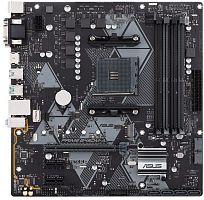 Материнская плата Asus PRIME B450M-A Soc-AM4 AMD B450 4xDDR4 mATX AC`97 8ch(7.1) GbLAN RAID+VGA+DVI+HDMI