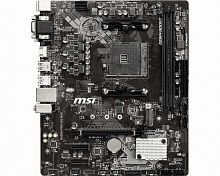 Материнская плата MSI B450M PRO-M2 MAX Soc-AM4 AMD B450 2xDDR4 mATX AC`97 8ch(7.1) GbLAN RAID+VGA+DVI+HDMI