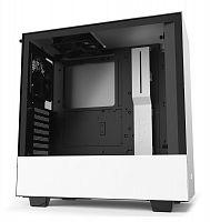 Корпус NZXT H510 CA-H510B-W1 белый без БП ATX 2x120mm 1xUSB3.0 1xUSB3.1 audio bott PSU