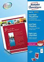 Фотобумага Avery Zweckform 2598-200 A4/150г/м2/200л./белый глянцевое/глянцевое для лазерной печати