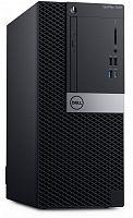 ПК Dell Optiplex 7070 MT i5 9500 (3)/8Gb/1Tb 7.2k/RX 550 4Gb/DVDRW/Windows 10 Professional/GbitEth/260W/клавиатура/мышь/черный/серебристый