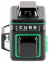 Лазерный нивелир Ada Cube 3-360 GREEN Professional Edition