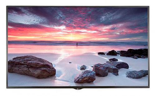 "Панель LG 65"" 65UH5E-B черный P-IPS LED 8ms 16:9 DVI HDMI M/M глянцевая 1100:1 500cd 178гр/178гр 3840x2160 DisplayPort USB 26кг"