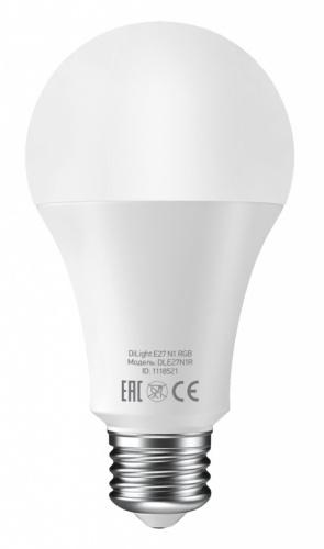 Умная лампа Digma DiLight E27 N1 RGB E27 8Вт 800lm Wi-Fi фото 2