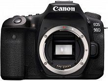 """Зеркальный Фотоаппарат Canon EOS 90D черный 32.5Mpix 3"""" 1080p 4K SDXC Li-ion (без объектива)"""