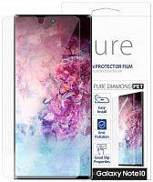 Защитная пленка для экрана Samsung araree Pure Diamond для Samsung Galaxy Note 10 прозрачная 1шт. (GP-TFN970KDATR)