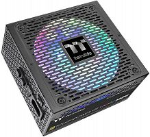 Блок питания Thermaltake ATX 650W Toughpower GF1 ARGB 80+ gold (24+4+4pin) APFC 140mm fan color LED 9xSATA Cab Manag RTL