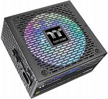 Блок питания Thermaltake ATX 750W Toughpower GF1 ARGB 80+ gold (24+4+4pin) APFC 140mm fan color LED 9xSATA Cab Manag RTL