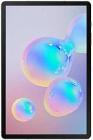 "Планшет Samsung Galaxy Tab S6 SM-T865N (2.8) 8C/RAM6Gb/ROM128Gb 10.5"" Super AMOLED 2560x1600/3G/4G/Android 9.0/серый/13Mpix/8Mpix/BT/GPS/WiFi/Touch/microSD 1Tb/7040mAh"