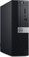 ПК Dell Optiplex 7070 SFF i7 9700 (3)/16Gb/SSD512Gb/RX 550 4Gb/DVDRW/CR/Windows 10 Professional 64/GbitEth/WiFi/BT/200W/клавиатура/мышь/черный/серебристый