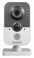 Видеокамера IP Hikvision HiWatch DS-I114W 6-6мм цветная корп.:белый
