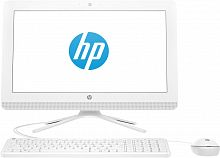 "Моноблок HP 20-c433ur 19.5"" Full HD i3 7130U (2.7)/8Gb/1Tb 7.2k/HDG620/CR/Free DOS 2.0/GbitEth/WiFi/BT/65W/клавиатура/мышь/Cam/белый 1920x1080"