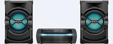 Минисистема Sony HCD-SHAKEX10 черный 1200Вт/CD/CDRW/DVD/DVDRW/FM/USB/BT