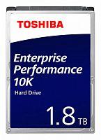 "Жесткий диск Toshiba SAS 3.0 1800Gb AL15SEB18EQ (10500rpm) 128Mb 2.5"""