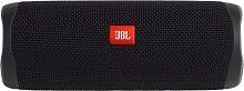 Колонка порт. JBL Flip 5 черный 20W 1.0 BT 4800mAh (JBLFLIP5BLK)