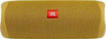 Колонка порт. JBL Flip 5 желтый 20W 1.0 BT 4800mAh (JBLFLIP5YEL)
