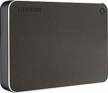 "Жесткий диск Toshiba USB 3.0 4Tb HDTW240EB3CA Canvio Premium 2.5"" темно-серый"