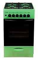 Плита Комбинированная Лысьва ЭГ 404 МС-2у зеленый (стеклянная крышка)