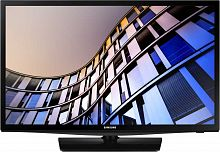"Телевизор LED Samsung 24"" UE24N4500AUXRU 4 черный/HD READY/50Hz/DVB-T2/DVB-C/DVB-S2/USB/WiFi/Smart TV (RUS)"