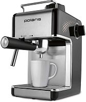Кофеварка эспрессо Polaris PCM 4010A 800Вт черный