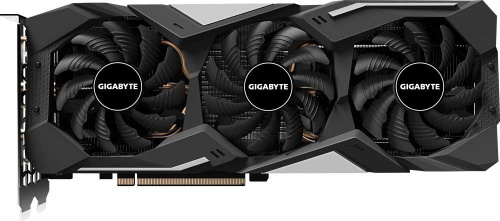 Видеокарта Gigabyte PCI-E GV-N166SGAMING OC-6GD nVidia GeForce GTX 1660SUPER 6144Mb 192bit GDDR6 1860/14000/HDMIx1/DPx3/HDCP Ret