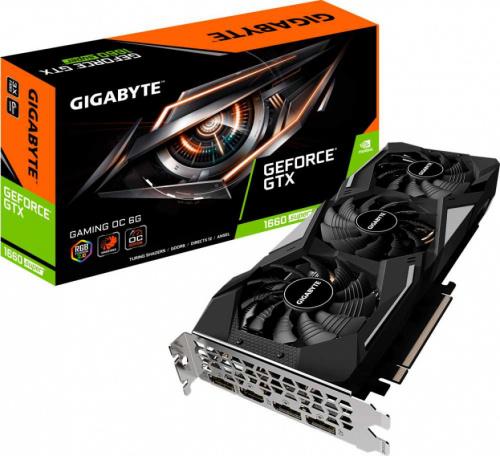 Видеокарта Gigabyte PCI-E GV-N166SGAMING OC-6GD nVidia GeForce GTX 1660SUPER 6144Mb 192bit GDDR6 1860/14000/HDMIx1/DPx3/HDCP Ret фото 9