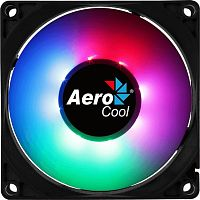 Вентилятор Aerocool Frost 8 80x80mm 3-pin 4-pin(Molex)28dB 90gr LED Ret