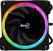 Устройство охлаждения(кулер) Aerocool Cylon 3 Soc-AM4/AM3+/1150/1151/1200 4-pin 13-24dB Al+Cu 125W 480gr LED Ret