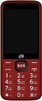 "Мобильный телефон ARK Power 4 32Mb красный моноблок 2Sim 2.8"" 240x320 Mocor 0.3Mpix GSM900/1800 MP3 FM microSD max32Gb"