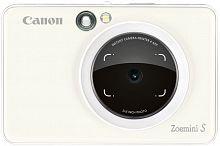 Фотоаппарат Canon Zoemini S белый 8Mpix microSDXC 30minF/Li-Ion