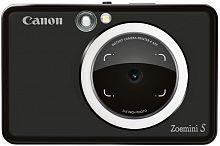 Фотоаппарат Canon Zoemini S черный 8Mpix microSDXC 30minF/Li-Ion