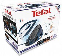 Паровая станция Tefal GV9071E0 2400Вт синий/черный