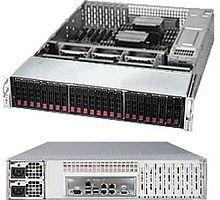 """Платформа SuperMicro SSG-2028R-E1CR24N 2.5"""" SAS/SATA LSI3108 10G 2P 2x920W"""