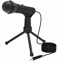 Микрофон проводной Ritmix RDM-120 1.8м черный