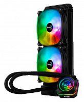 Устройство охлаждения(кулер) Aerocool Watercooler Pulse L240 F Soc-FM2+/AM2+/AM3+/AM4/1150/1151/1155/2011 4-pin 11-32dB Al+Cu 400W 1204gr LED Ret