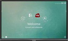 "Панель ViewSonic 55"" IFP5550-2EP черный D-LED DID LED 9ms 16:9 HDMI M/M матовая 1200:1 350cd 178гр/178гр 3840x2160 D-Sub DisplayPort SPDIF S-Video RCA Да FHD USB 31кг"
