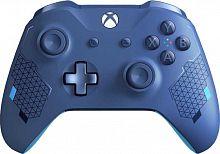 Геймпад Беспроводной Microsoft Sport синий для: Xbox One (WL3-00146)